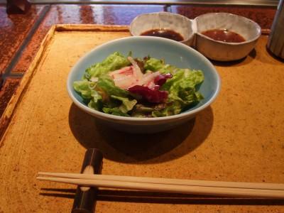 岡半 サラダ