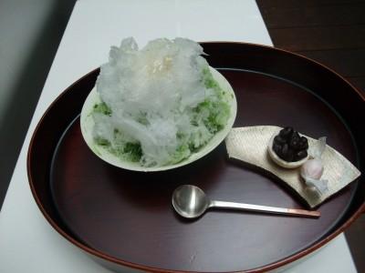 うおがし銘茶 茶・銀座 かき氷