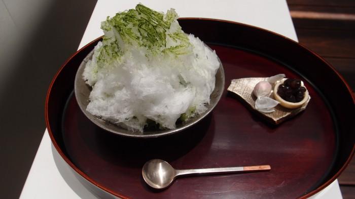 うおがし銘茶 茶・銀座 濃茶かき氷