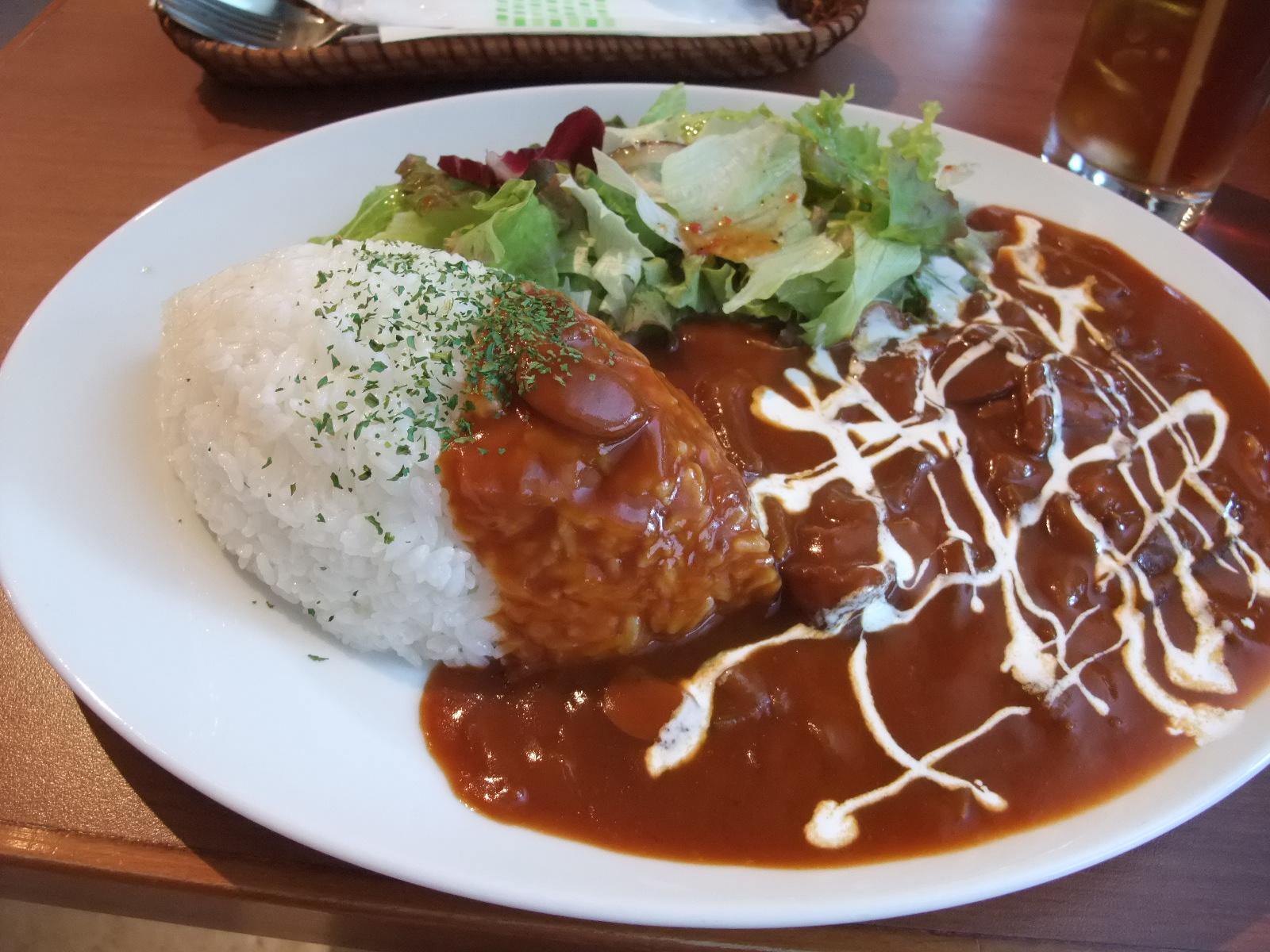 銀座 Cafe Ohana ハヤシライス
