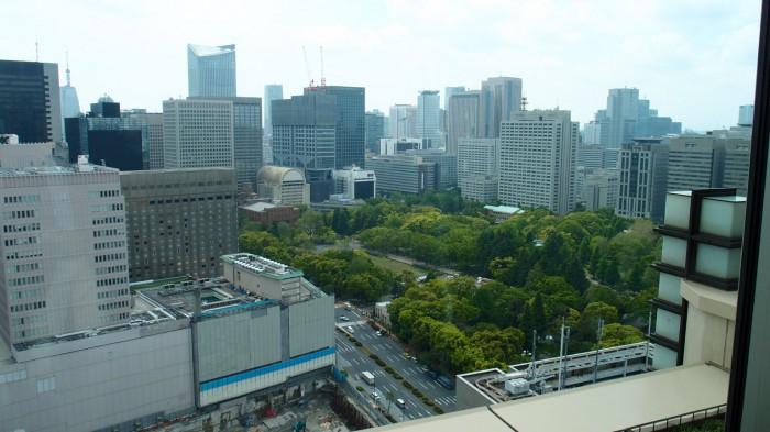 Peter@ペニンシュラ東京 眺望
