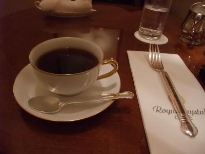 ロイヤルクリスタルカフェ コーヒー