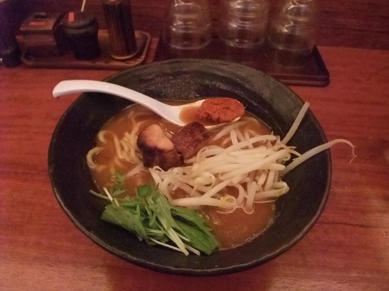 町田 辛麺真空 濃厚豚骨辛麺「山」