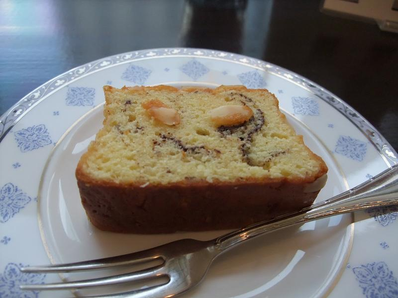 銀座 カフェきょうぶんかん スパニッシュケーキ