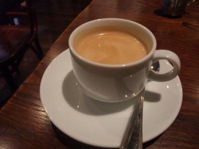 ブレッツカフェクレープリー コーヒー