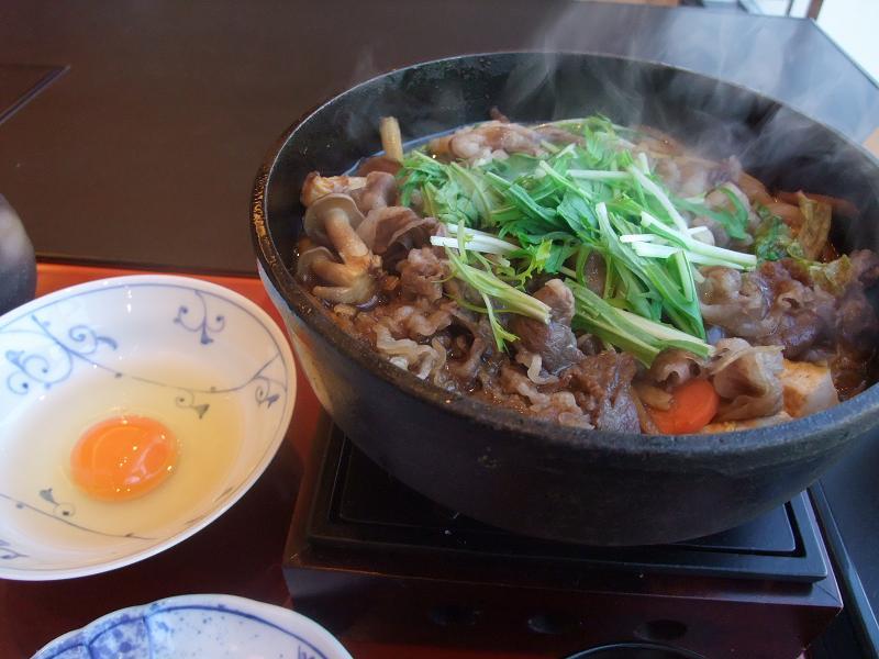 銀座 柿安 黒毛和牛すき焼膳