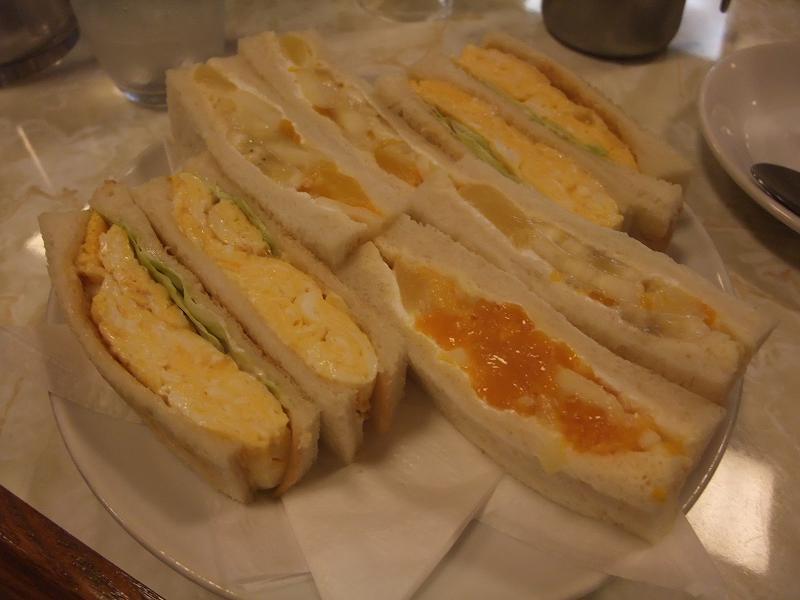 有楽町 はまの屋 サンドイッチセット