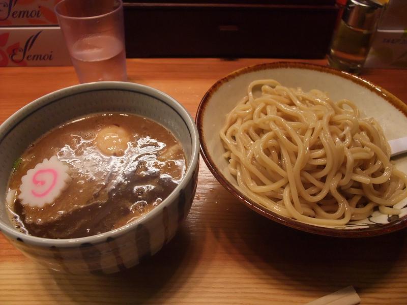 銀座 朧月 特製つけ麺
