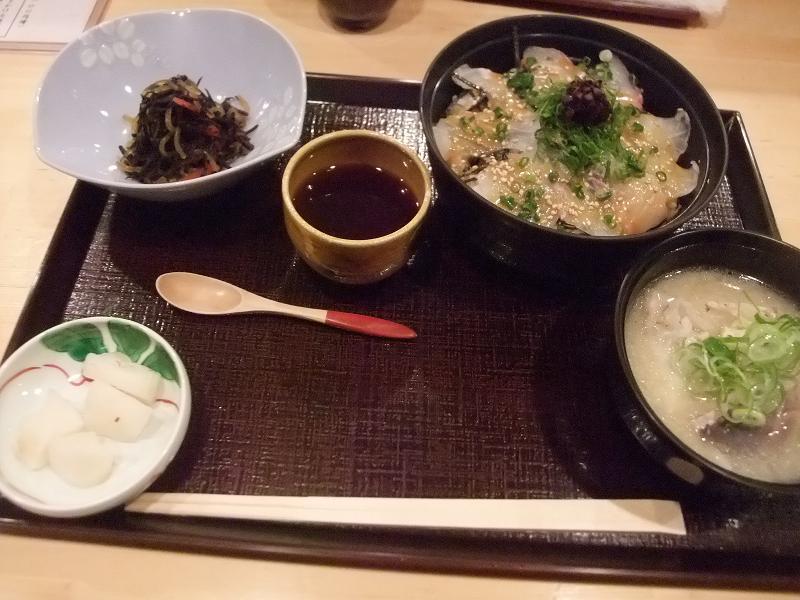 銀座 双寿 桜鯛の胡麻醤油かけ丼