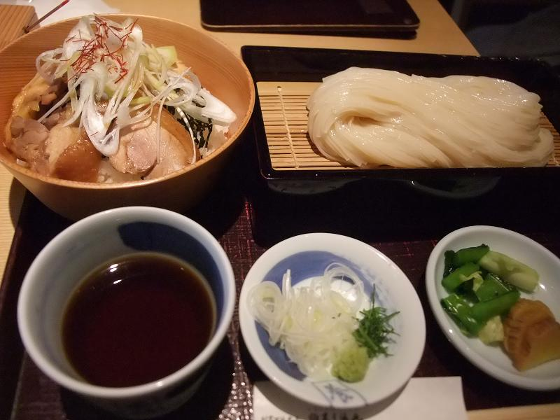 銀座 佐藤養助 比内地鶏かしわ丼セット