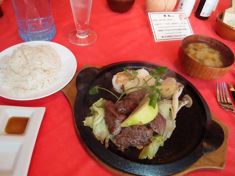 銀座 びふてき松江 ランチステーキ