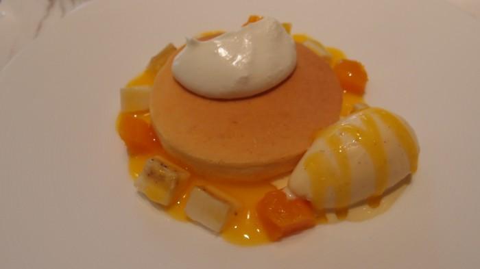 ミキモトラウンジ リコッタチーズのパンケーキ