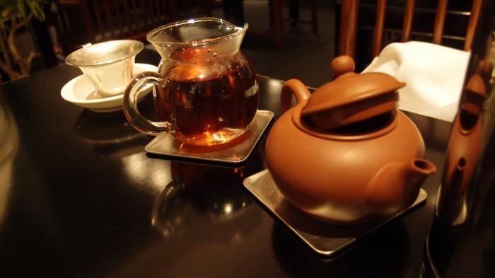 赤坂璃宮 プーアル茶