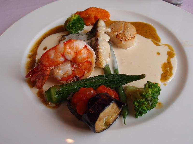 銀座 EMU 本日の魚料理
