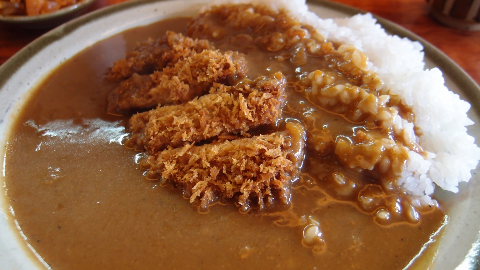 銀座 井泉 カツカレー | メンコロ定食