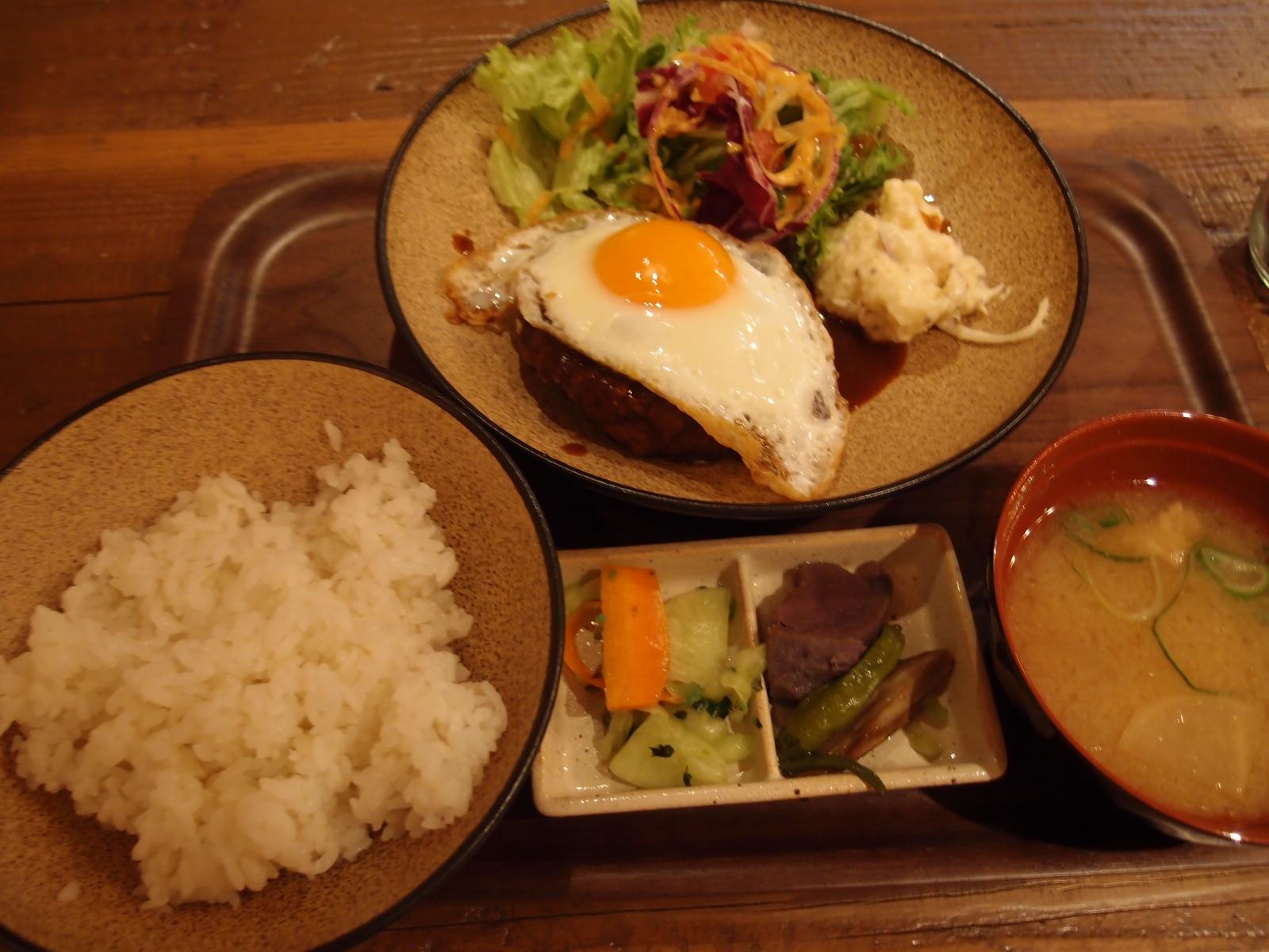 銀座 塊KATAMARIミートダイニング 手ごねハンバーグ定食