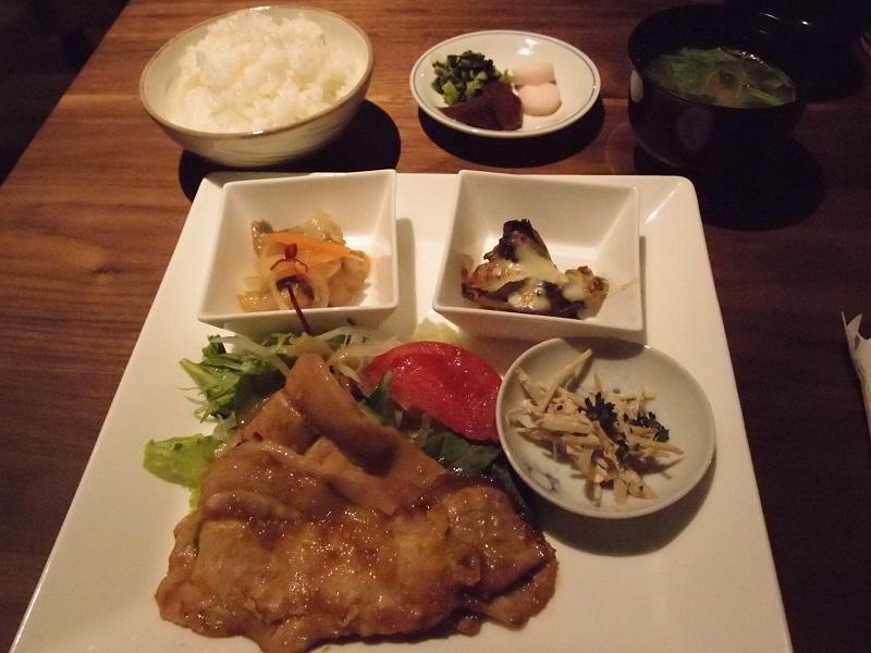 銀座 ミタスカフェ 本日の日替わりランチ