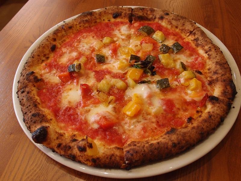 銀座 Pizzeria Trattoria Vomero ピッツァランチ