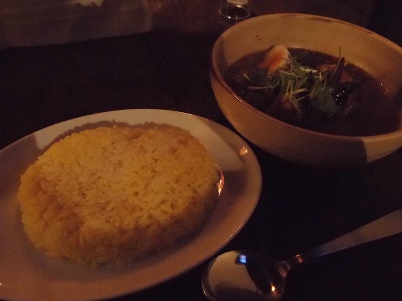 銀座 スープカリーYellow Spice 黄ポークカリー
