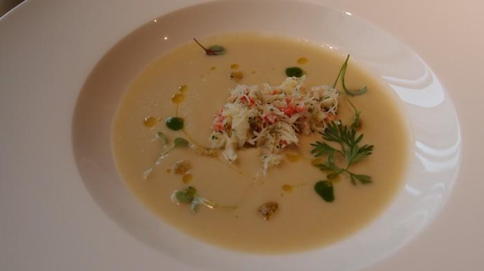 アルマーニ リストランテ スープ