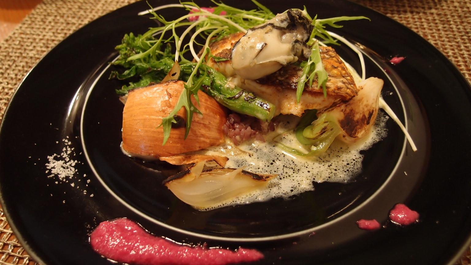 新富町 Coulis(クーリ) Fish Lunch