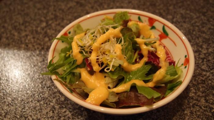 焼肉割烹 松阪 サラダ