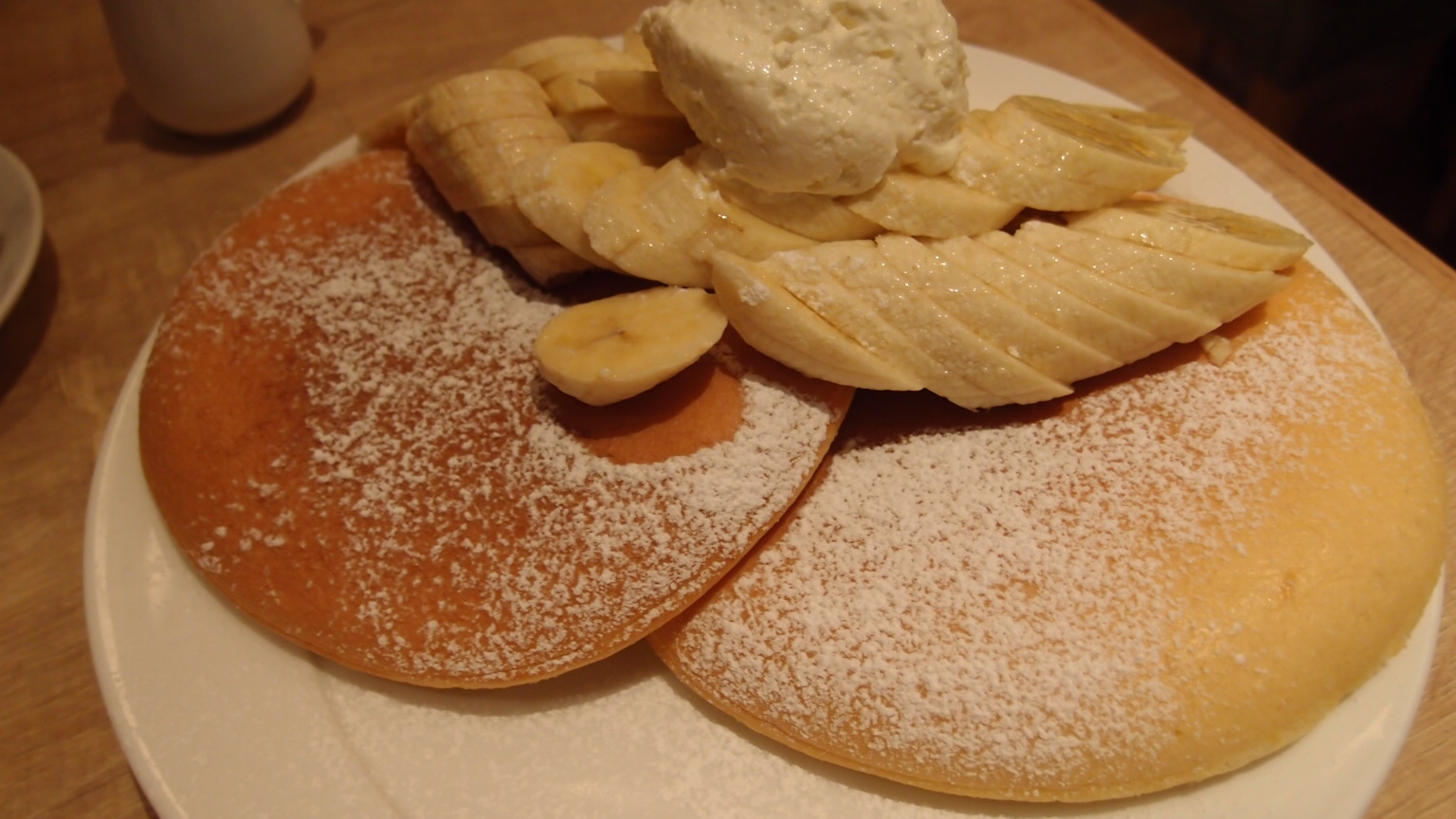 有楽町 モアナキッチンカフェ@イトシア ハワイアンパンケーキ