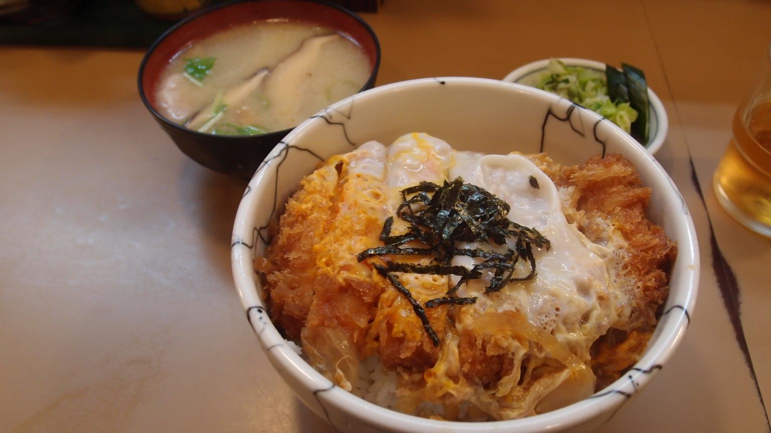 銀座 とん㐂 かつ丼定食