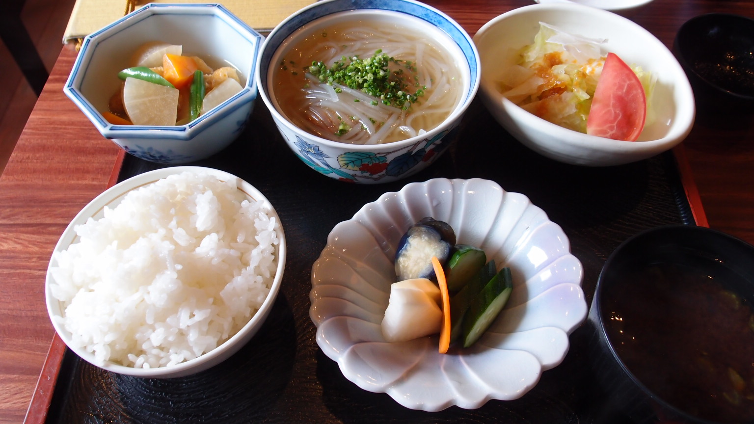 銀座 福和 豚角煮定食