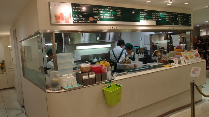 JUICE BAR Re:new@松屋 外観