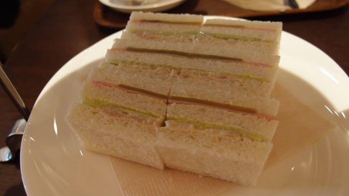 PEN STATION Cafe サンドイッチ