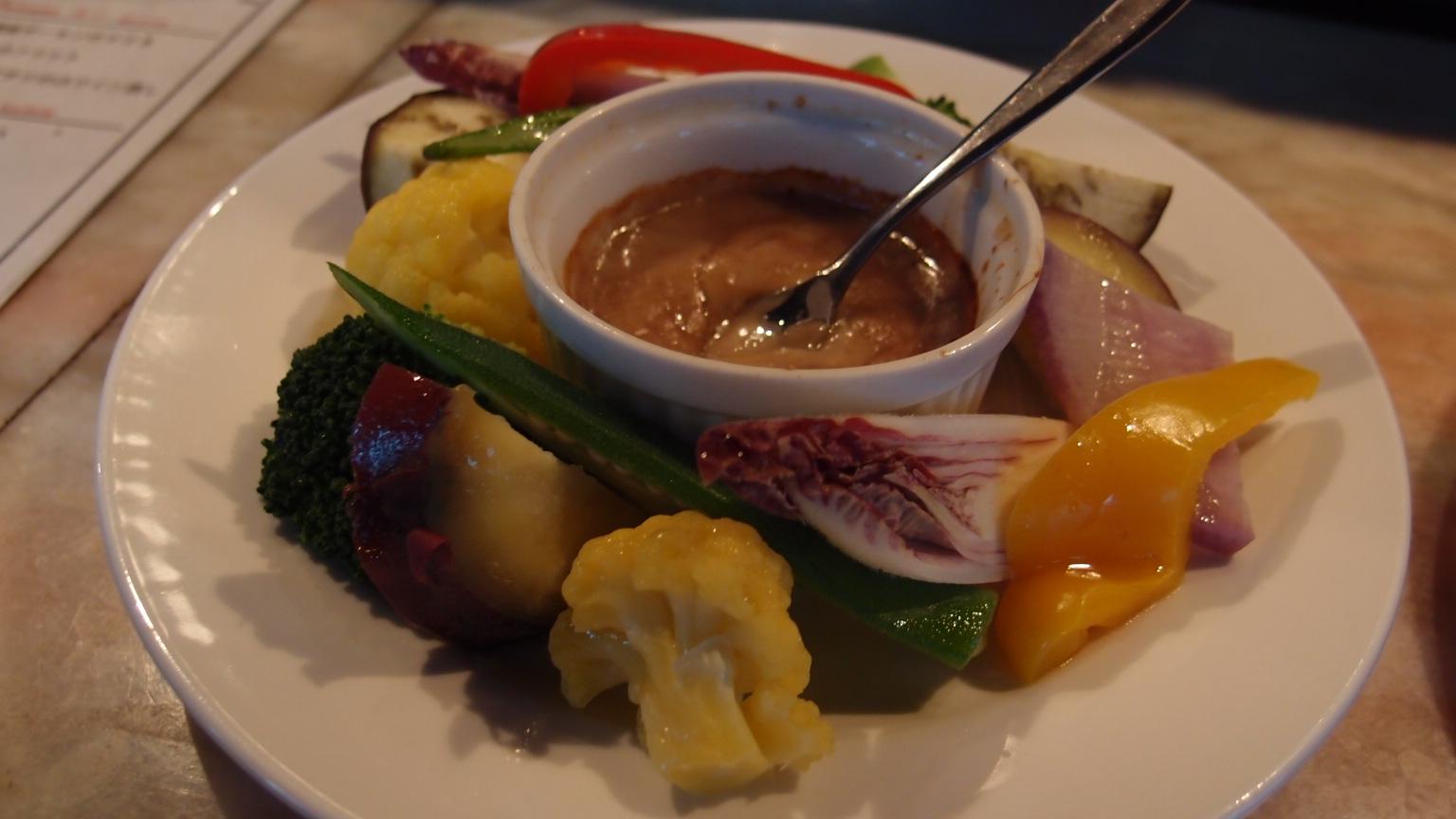 銀座 VAPEUR 季節野菜のヴァプール他