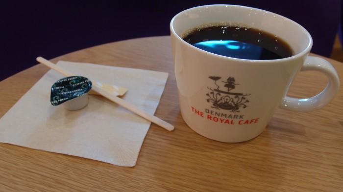 デンマーク・ザ・ロイヤルカフェテラ コーヒー