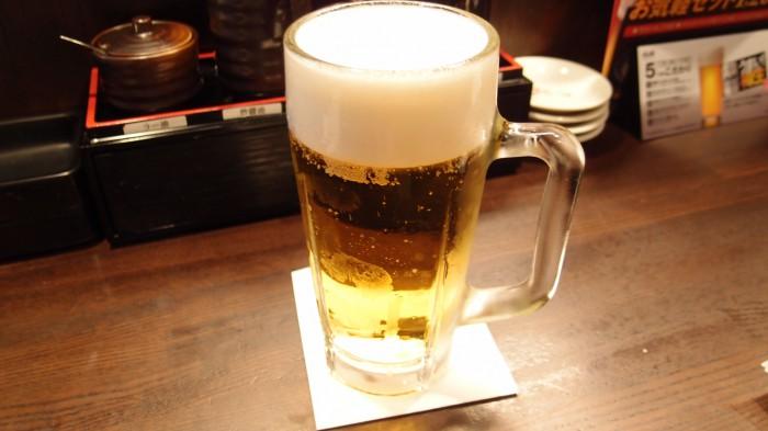 浪花ひとくち餃子チャオチャオ 生ビール