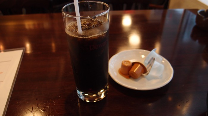 寿シーフード アイスコーヒー