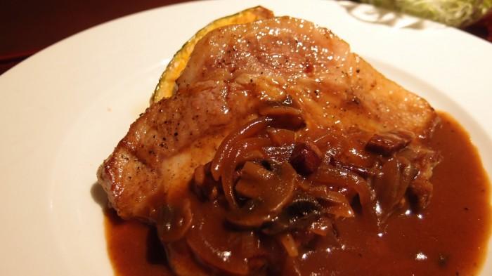 豚肉創作料理やまと ポークソテークラシック風