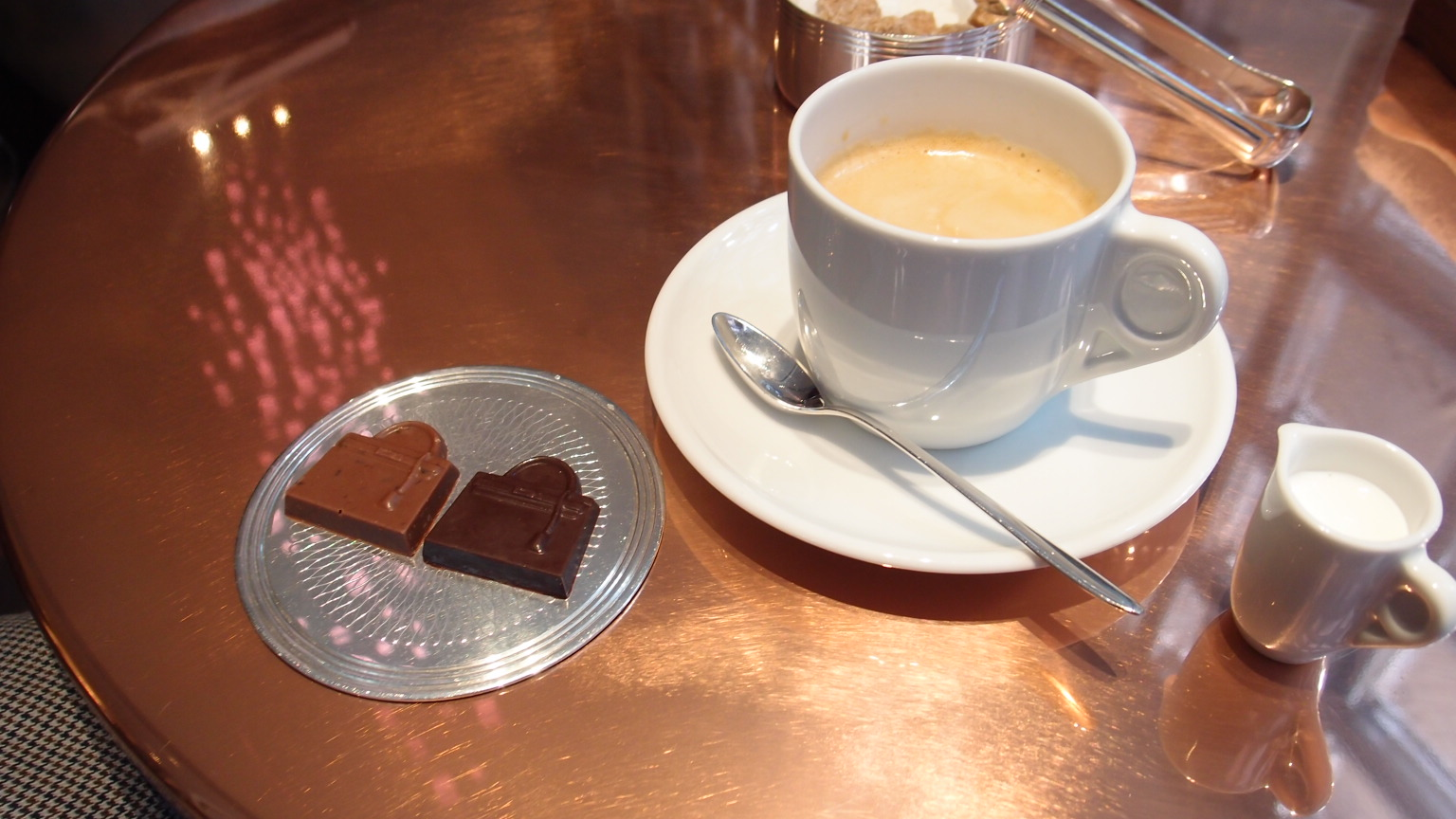 銀座 Puiforcat cafe@エルメス Cafe