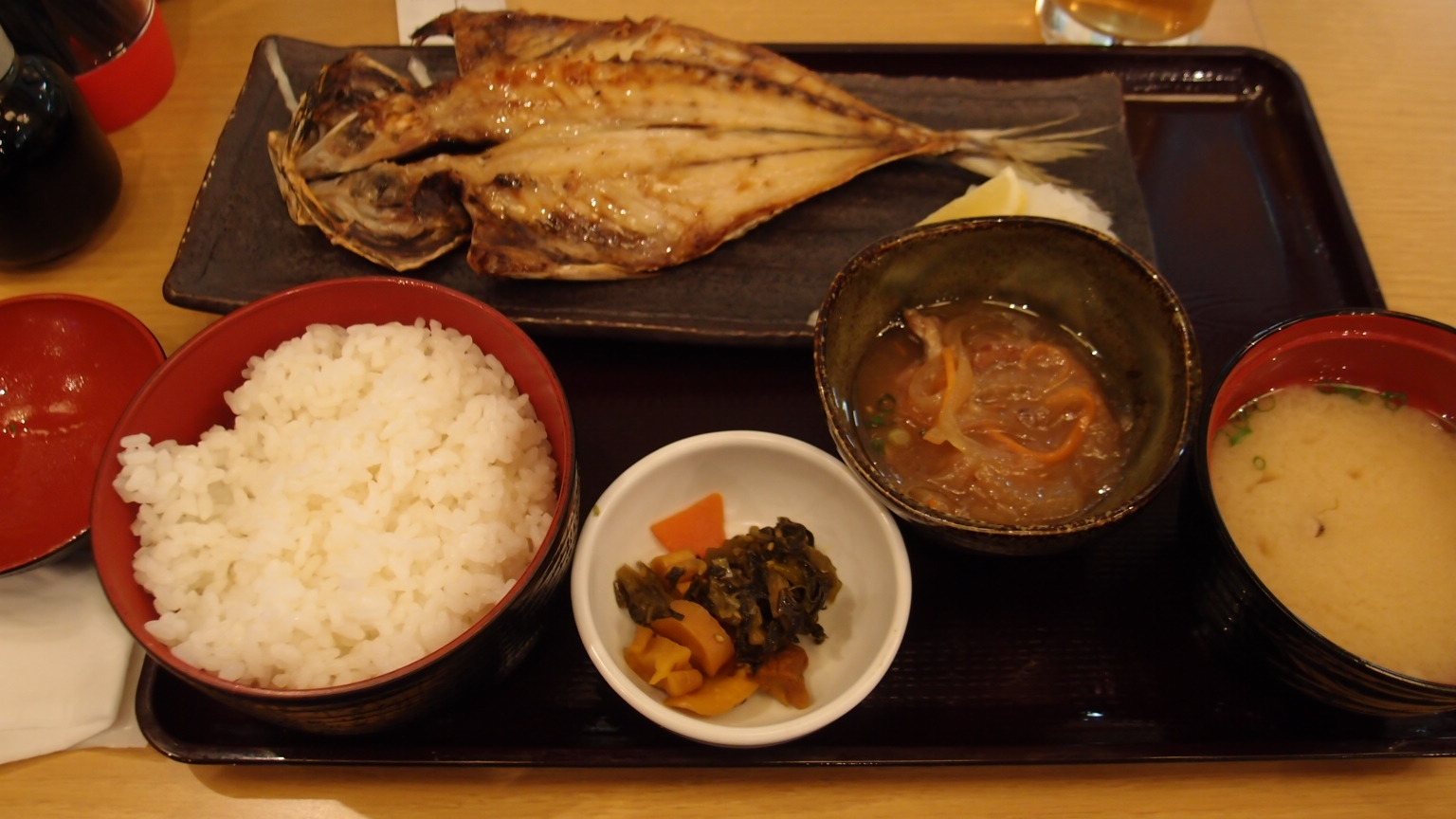 有楽町 魚盛 本日の焼き魚御膳