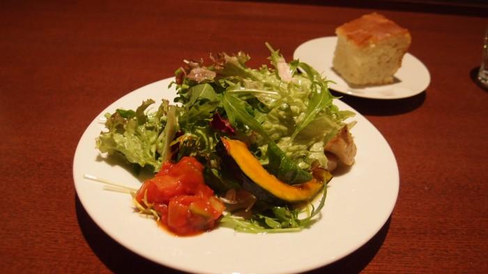リストランテフィオレンツァ サラダ