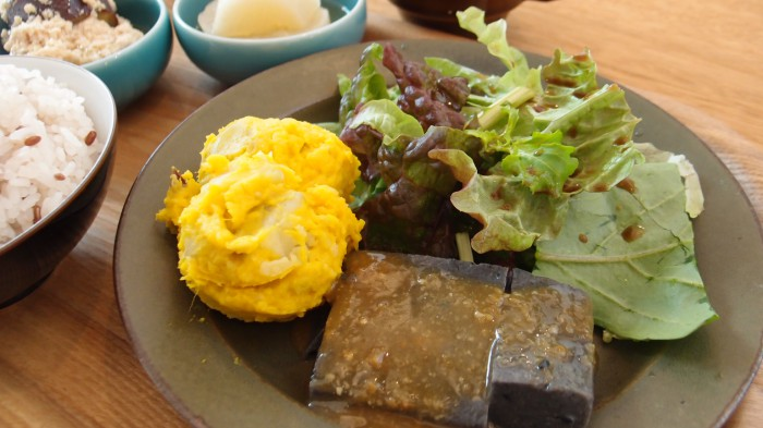 cafe634 副菜のプレート