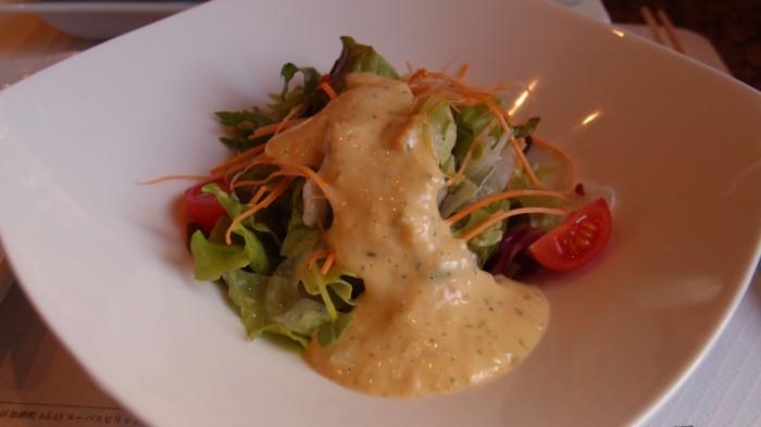 ビフテキのカワムラ サラダ