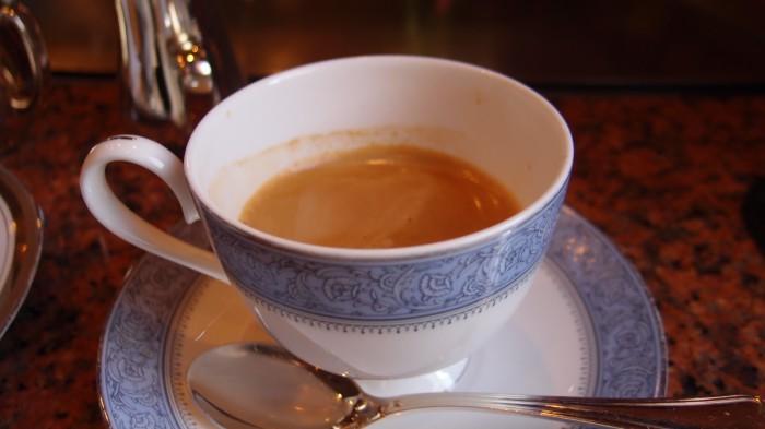 ビフテキのカワムラ コーヒー
