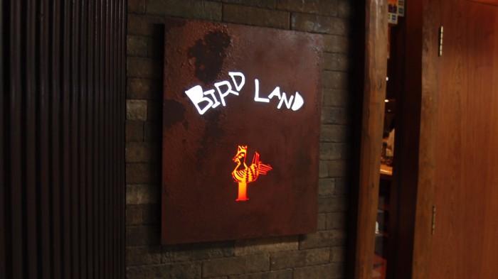 バードランド 看板