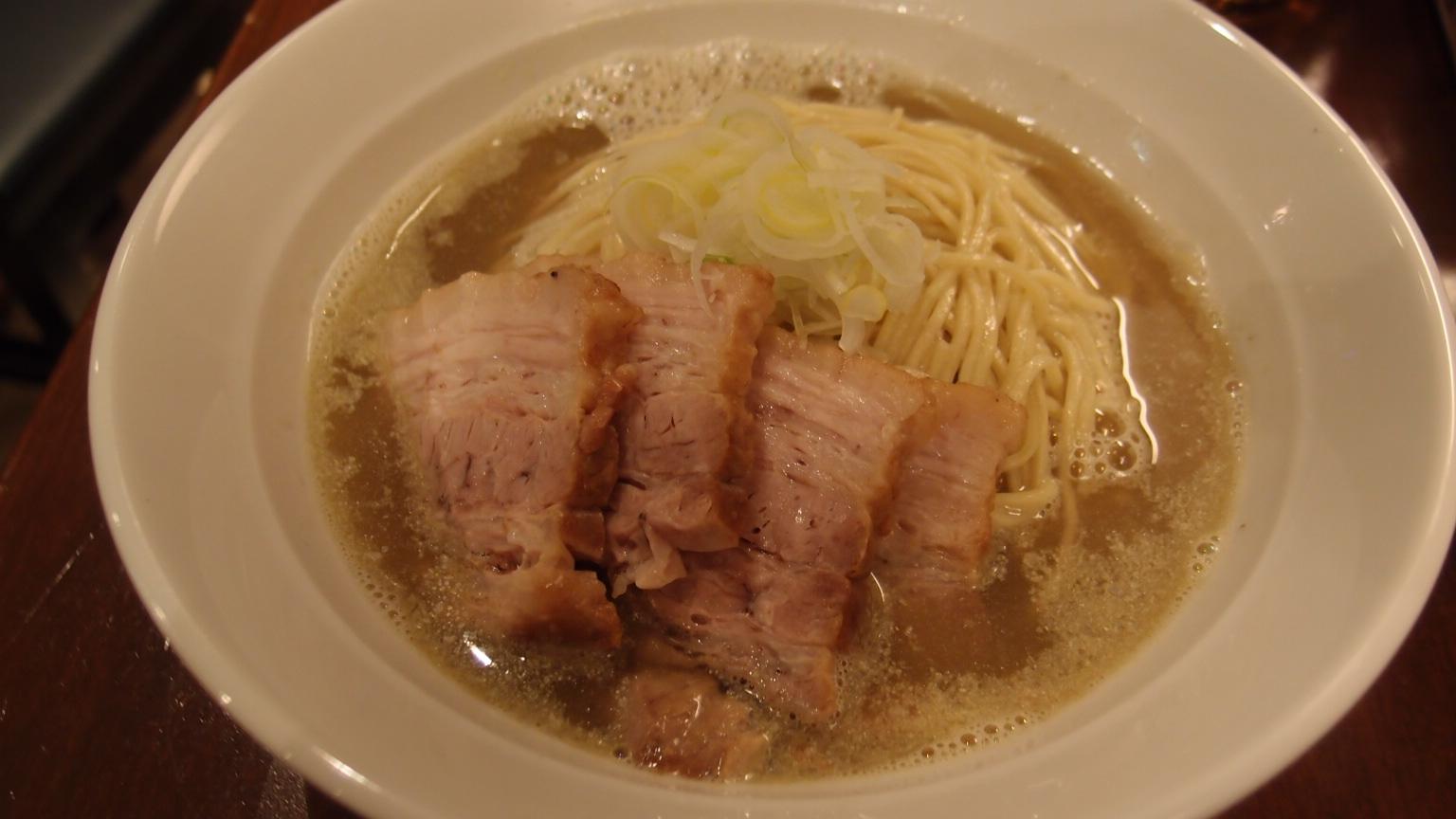 銀座 自家製麺伊藤 肉そば