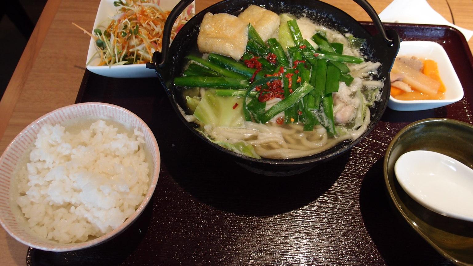 銀座 慶州銀中店 もつ鍋定食