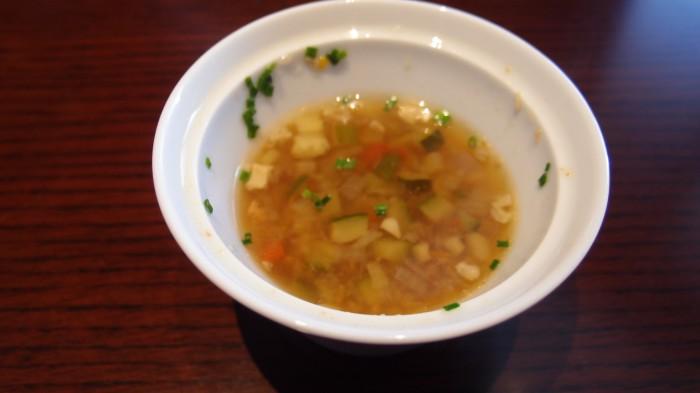 カメリア@東京ステーションホテル スープ