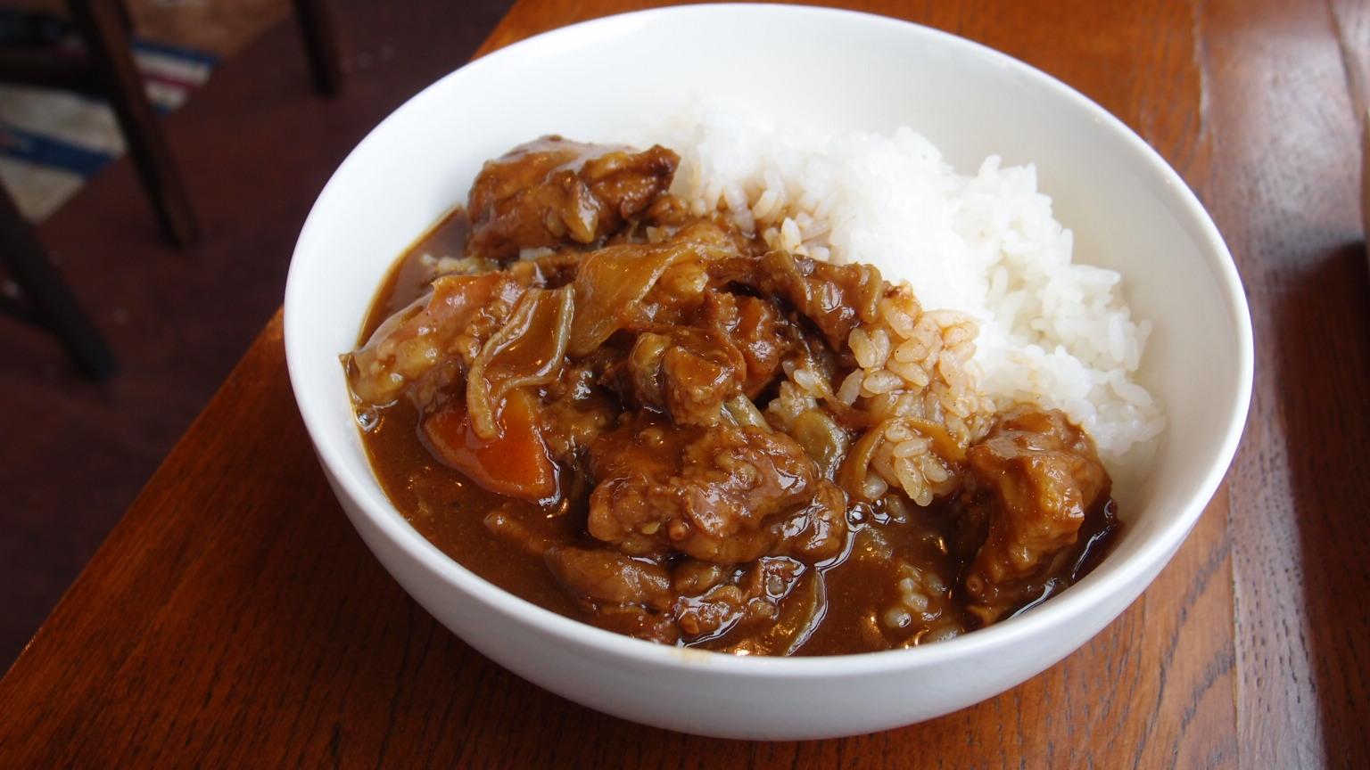 銀座 Kitchen Miyuki(Cave+SRh) 牛すじのコラーゲン和風カレー