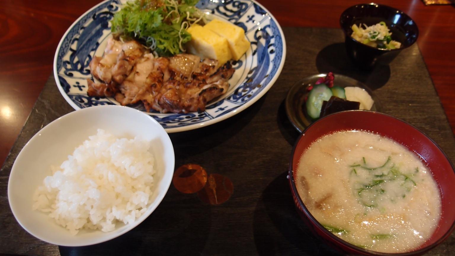 銀座 古郁 鶏炭焼き