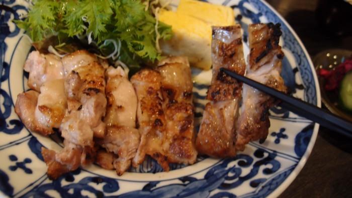 古郁 鶏炭焼き