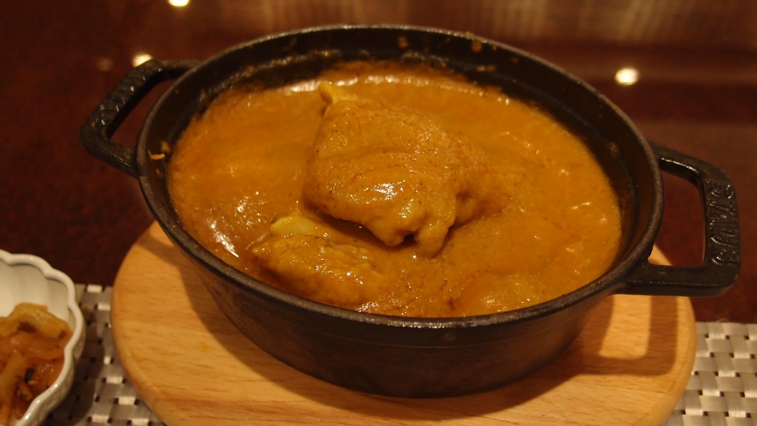 銀座 銀座咖喱堂 宮崎日南鶏のバターチキンカレー